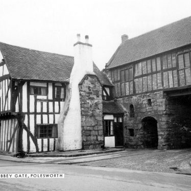 Polesworth.  Abbey Gate