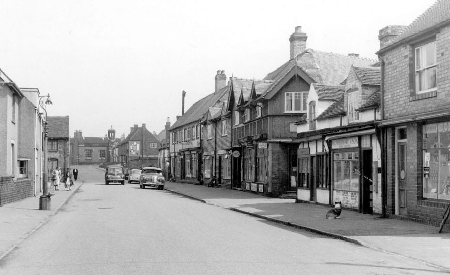 Bridge Street, Polesworth.  1950s |  IMAGE LOCATION: (Warwickshire County Record Office)