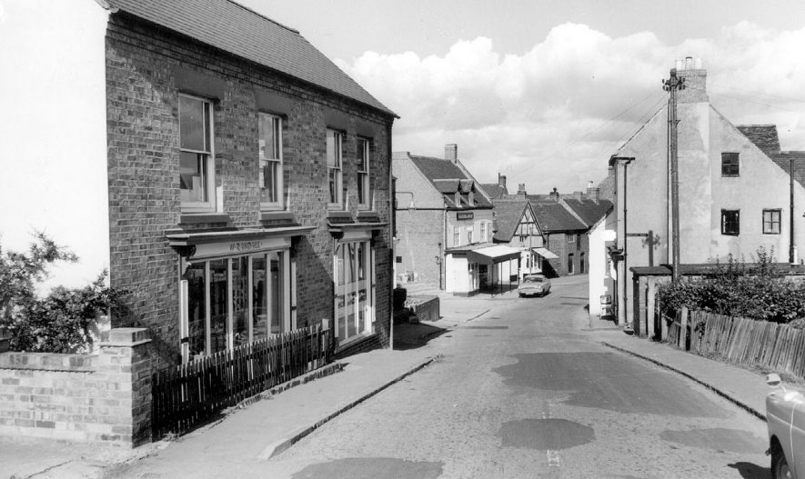 Market Street, Polesworth.  1950s |  IMAGE LOCATION: (Warwickshire County Record Office)