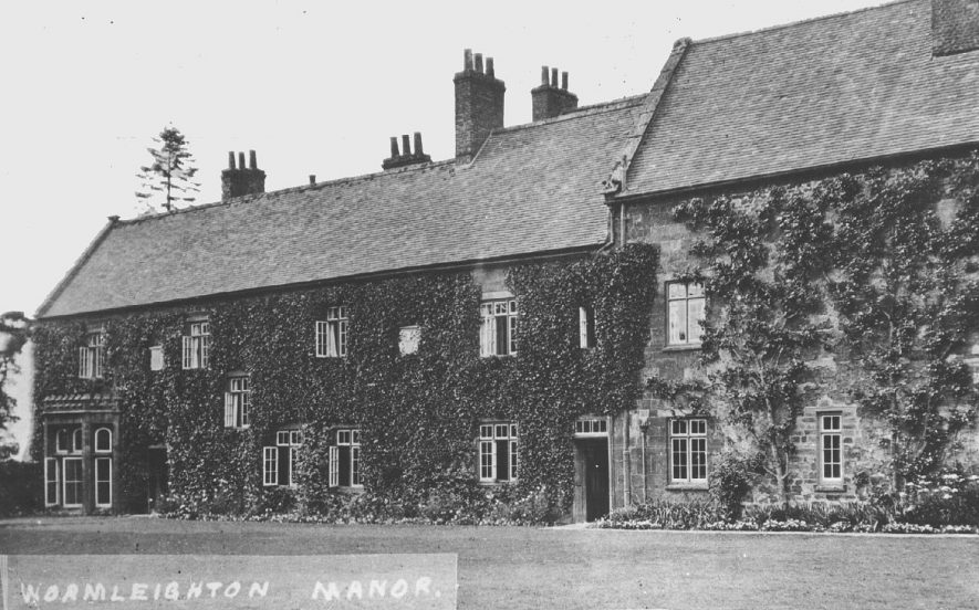 Wormleighton Manor. 1920s |  IMAGE LOCATION: (Warwickshire County Record Office)