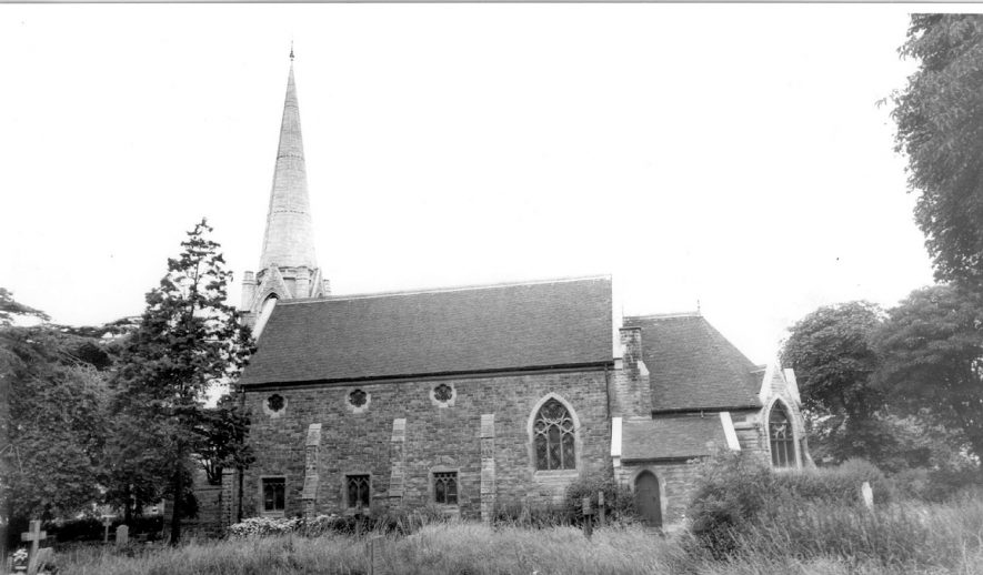 Water Orton church.  1960s |  IMAGE LOCATION: (Warwickshire County Record Office)