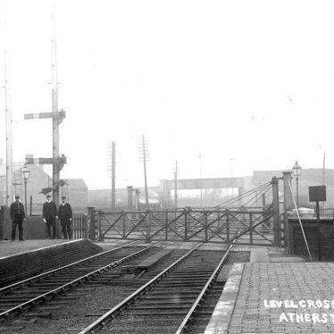 Atherstone.  Railway Station