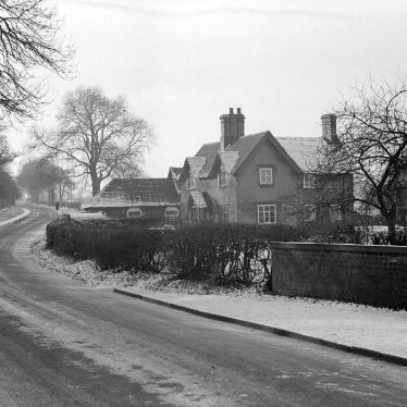 Nuneaton.  Astley Lane, under snow