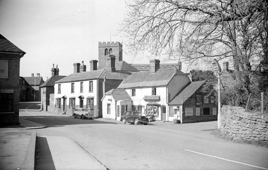 View of Fillongley village.  1952 |  IMAGE LOCATION: (Warwickshire County Record Office)