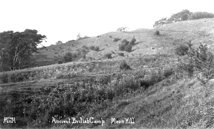 Ancient British Camp , Meon Hill.  1920s |  IMAGE LOCATION: (Warwickshire County Record Office)