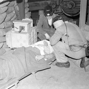 Nuneaton.  Miners first aid competition
