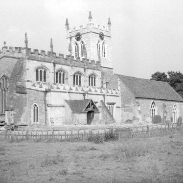 Wootton Wawen.  St Peter's Church