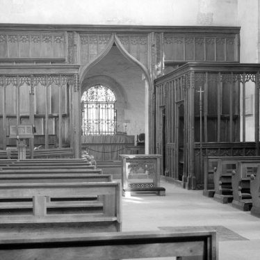 Wootton Wawen.  St Peter's Church, interior