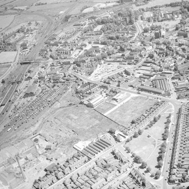 Nuneaton.  Aerial view