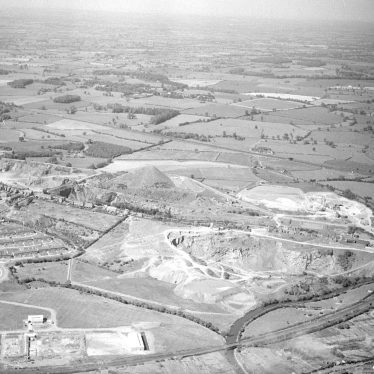 Nuneaton.  Aerial view over Tuttle Hill