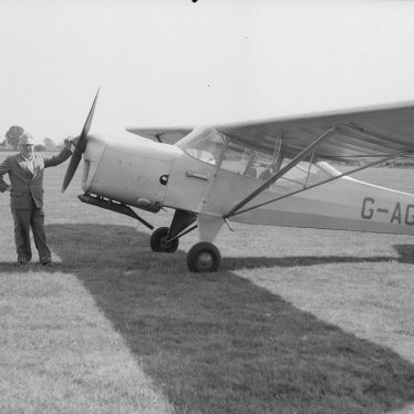 Baginton.  Mr W.J. Taylor, at Baginton Airport
