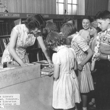 Nuneaton.  Children's Library