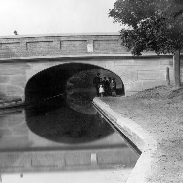 Nuneaton.  Coventry Road canal bridge