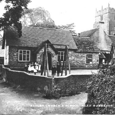 Astley.  Church and School