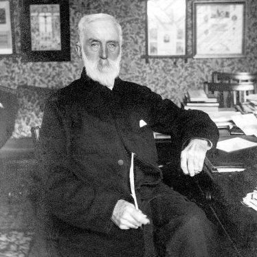 Nuneaton.  Canon H .W. Blellairs, vicar