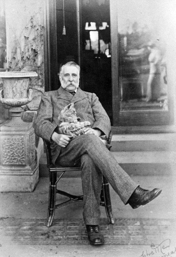 Alderman Joseph Fielding Johnson.  First mayor of Nuneaton and local industrialist.   1900s |  IMAGE LOCATION: (Nuneaton Library) PEOPLE IN PHOTO: Johnson, Joseph F