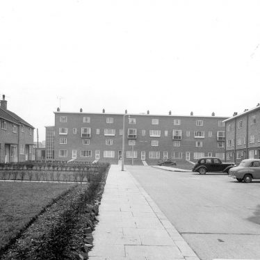 Nuneaton.  Caldwell housing estate