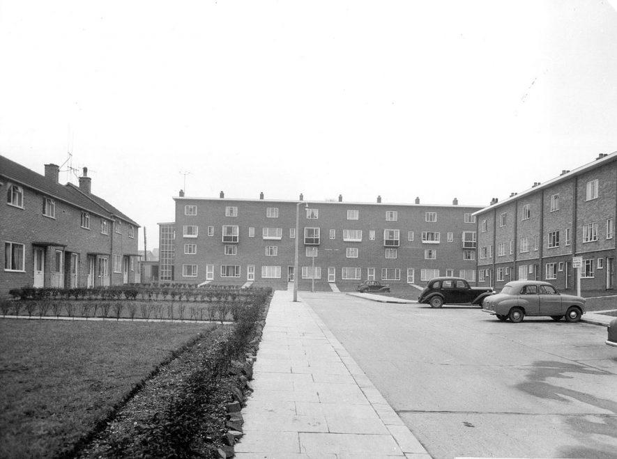Caldwell housing estate.  Franklin Road, Nuneaton.  1940s  |  IMAGE LOCATION: (Nuneaton Library)