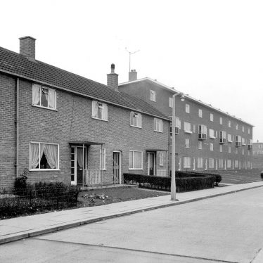 Nuneaton.  Caldwell housing estate