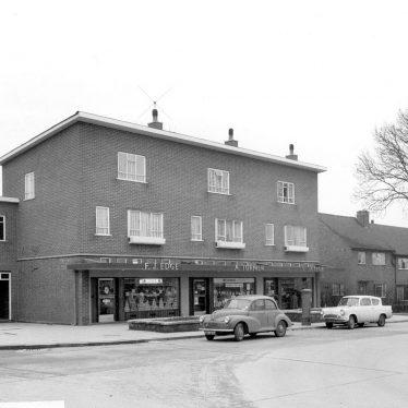 Nuneaton.  Caldecote Road, Hill Top housing estate