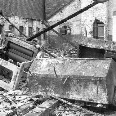 Nuneaton.  Midland Daily Tribune bomb damage