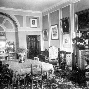 Nuneaton.  Oldbury Hall?  Interior-dining room