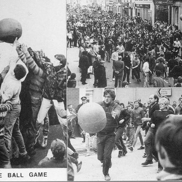 Atherstone.  Ball Game