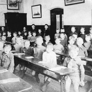 Nuneaton.  Vicarage Street school standard 1