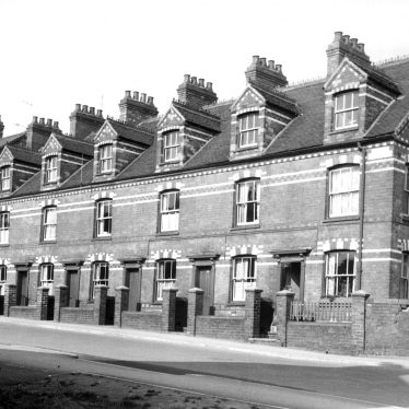 Bedworth.  Terraced houses