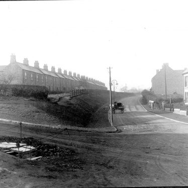 Galley Common.  Terraced houses