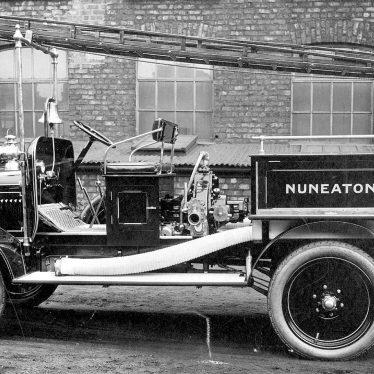 Nuneaton.  Fire Engine