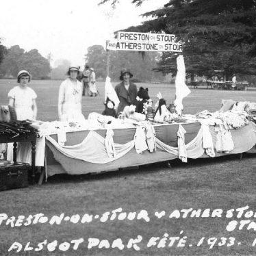 Preston on Stour.  Alscot Park fete