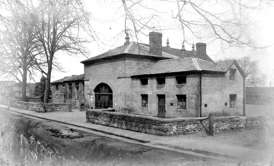 Church School (Shepperton School), Chilvers Coton.  1900s |  IMAGE LOCATION: (Nuneaton Library)