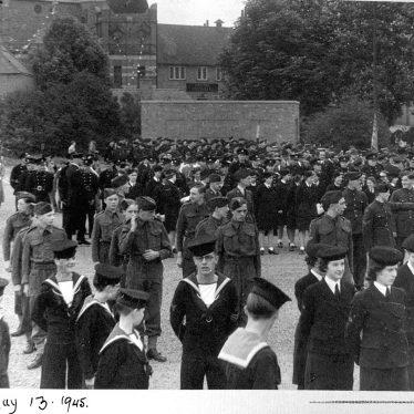 Nuneaton.  V.E. parade