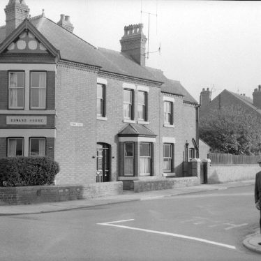 Nuneaton.  Edward Street, no 159, home of Mr. Reg Bull