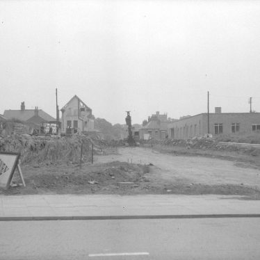 Nuneaton.  New Road being constructed