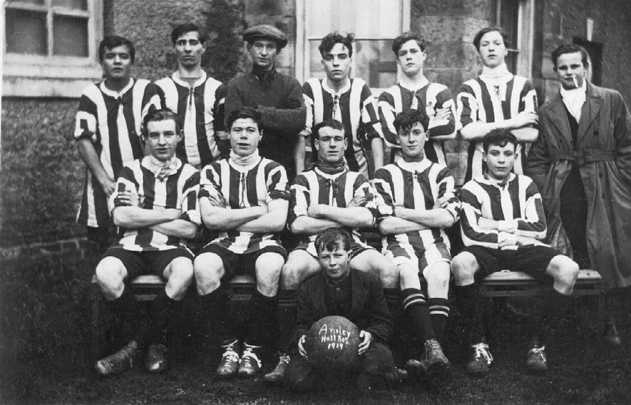 Ansley Hall Reserves football team. Group photograph.  1919 |  IMAGE LOCATION: (Warwickshire County Record Office)