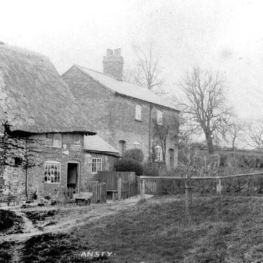 Ansty.  Cottages