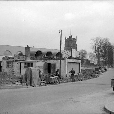 Nuneaton.  Abbey Service Station