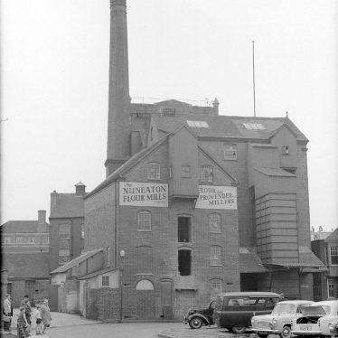 Nuneaton.  Flour Mills