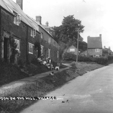 Napton on the Hill.  Village street