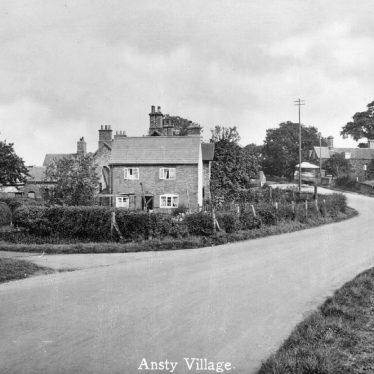 Ansty.  Village scene