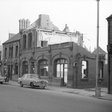 Nuneaton.  Demolition of Public Library