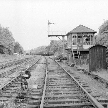 Newbold on Avon.  Railway at Rugby Wharf