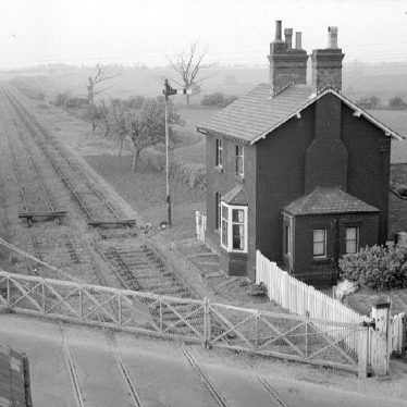 Willey.  Railway crossing