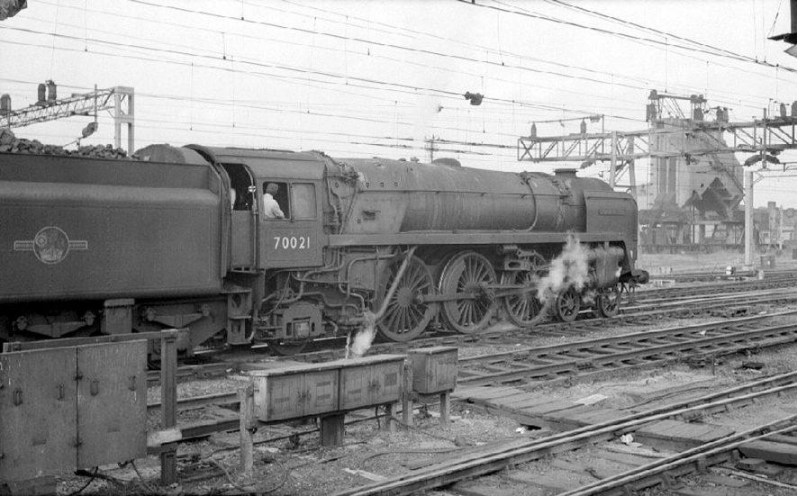 Steam engine no. 70021