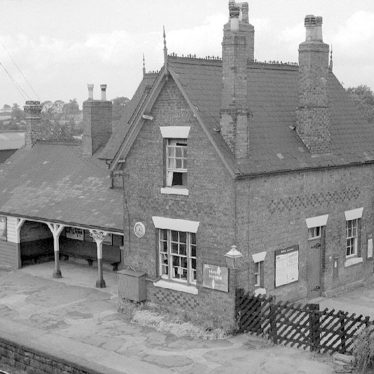 Shustoke.  Railway Station