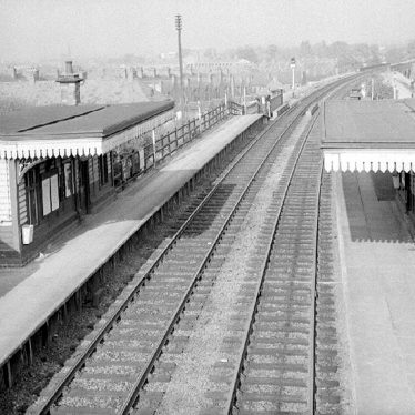 Chilvers Coton.  Railway Station