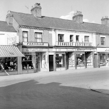 Nuneaton.  Queens Road, Fennell's outfitters