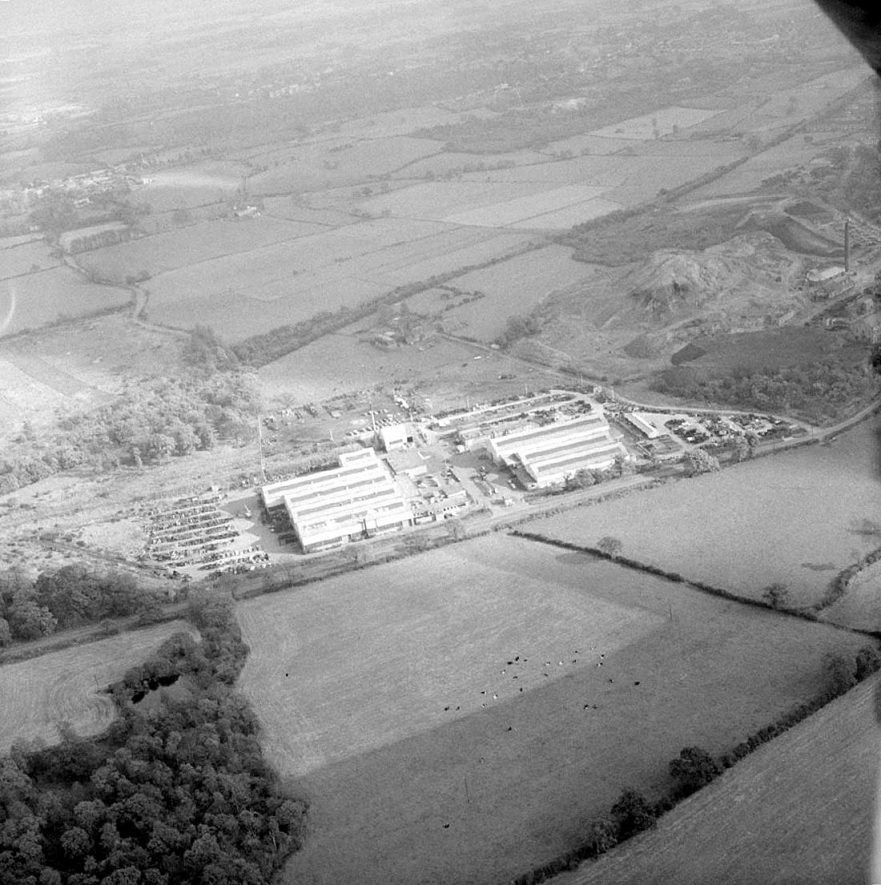 National Coal Board's Area Central Stores & Workshops at Piper's Lane, Ansley.  October 29th 1965 |  IMAGE LOCATION: (Warwickshire County Record Office)